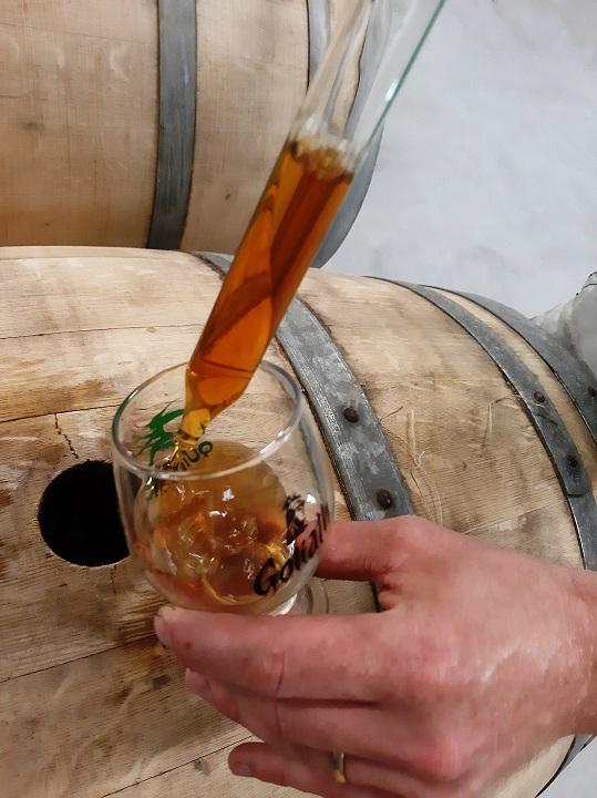 Chai - Brasserie Quintine à Ellezelles - bières éphémères- photo barrique